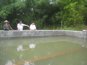 Công trình cấp nước sinh hoạt tại xã Ngọc Mỹ đi vào hoạt động đảm bảo cấp nước sinh hoạt cho gần 5.000 hộ dân.
