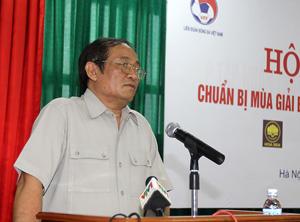 Chủ tịch Nguyễn Trọng Hỷ luôn cầu thị để nâng tầm BĐVN - Ảnh: Thục Linh