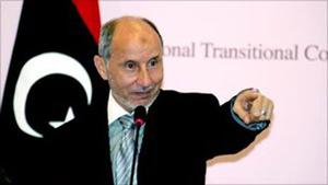 Chủ tịch Hội đồng dân tộc chuyển tiếp Libya (NTC) Abdul Jalil.