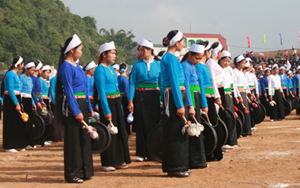 Đội nghệ nhân cồng chiêng huyện Kim Bôi tích cực luyện tập cho lễ kỷ niệm 125 năm ngày thành lập tỉnh, 20 năm tái lập tỉnh.