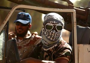 Lực lượng phe nổi dậy Libya.