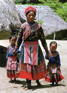 Trang phục người Mông Hoa