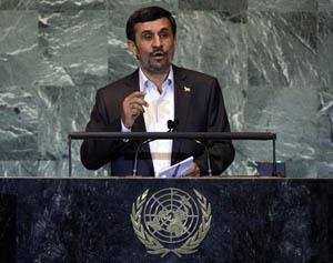 Tổng thống Iran Mahmoud Ahmadinejad bị chỉ trích nặng nề sau bài phát biểu tại LHQ.