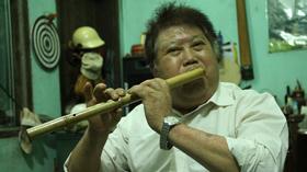 NSND Kim Vĩnh đã cống hiến cả đời mình cho cây sáo của dân tộc Mông.