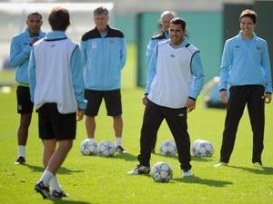 Man City đã sẵn sàng cho trận đấu với Bayern Munich. (Nguồn: Getty)