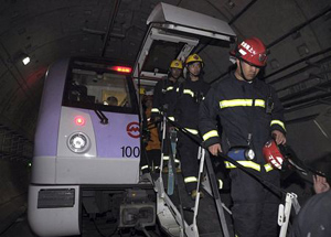 Vụ tai nạn tàu điện ngầm làm hơn 270 người bị thương.
