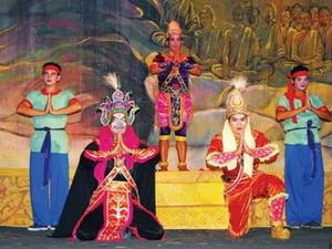 Một vở diễn của đoàn Ánh Bình Minh. (Nguồn: baoanhdatmui.vn)