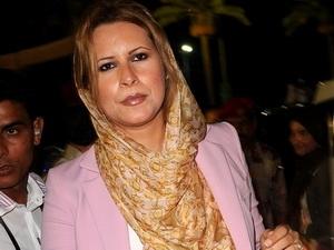 Aisha Gaddafi, con gái ông Gaddafi