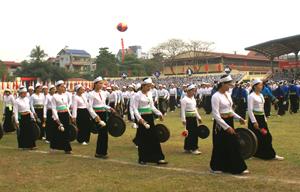 Lễ hội văn hóa cồng chiêng lần thứ I năm 2011 sẽ có sự tham gia của gần 1.500 nghệ nhân.
