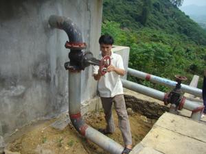 Xã Tân Mỹ (Lạc Sơn) thành lập và duy trì có hiệu quả hoạt động tổ quản lý, vận hành đảm bảo công trình cấp nước tập trung sử dụng ổn định, bền vững.