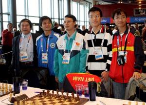Cờ vua VN lập thành tích xuất sắc tại giải Olympiad 2012