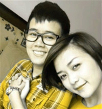 Hình ảnh Phương Uyên và thí sinh Thiều Bảo Trang được tung lên clip như dự đoán kết quả... cuối cùng.