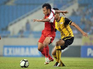 ĐTVN thắng thuyết phục Malaysia trên sân khách.