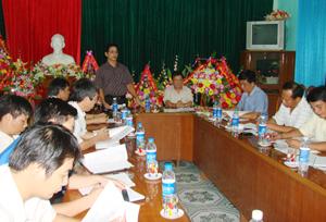 4 cơ quan, ngành: Báo Hoà Bình, Sở VH – TT&DL, Sở GD&ĐT và Tỉnh đoàn thanh niên đã họp thống nhất nội dung tổ chức Giải việt dã truyền thống cúp Báo Hoà Bình lần thứ XXI-năm 2012.