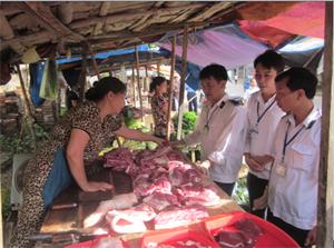 Sử dụng găng tay khi xử lý sản phẩm sống từ lợn giúp phòng bệnh liên cầu lợn lây sang người.