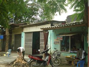 Phần đất nằm trong Dự án khu nhà ở liền kề phường Hữu Nghị (TPHB) mà 5 hộ gia đình đề nghị được xem xét giữ nguyên hiện trạng, không thu hồi đất và được cấp giấy chứng nhận quyền sử dụng đất.