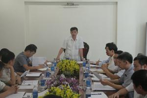Đồng chí Bùi Văn Khánh, Phó Chủ tịch UBND tỉnh kết luận buổi làm việc.