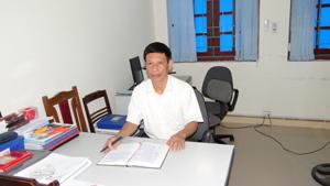Đồng chí Trần Ngọc Oanh được cấp trên điều động về nhận công tác tại cơ quan UBKT Huyện uỷ Yên Thủy.