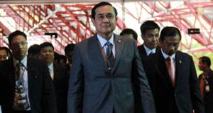 Thủ tướng Thái-lan kiêm Chủ tịch NCPO, tướng Prayuth Chan-ocha. (Ảnh: Bưu điện Băng-cốc)