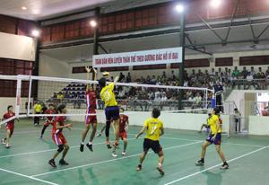 Đội Maseco TP Hồ Chí Minh (áo vàng) thắng độ Bến Tre (áo đỏ) tỷ số 3 – 0.