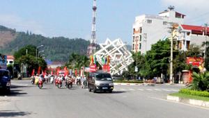 Diễu hành hưởng tuyên truyền công tác phòng, chống bệnh dại trên các tuyến đường thuộc địa bàn Thành phố.